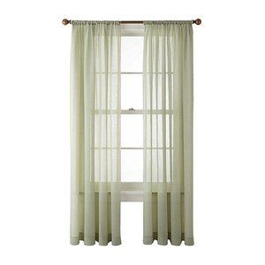 NWT✨ HLC.ME Sheer Voile Window Rod Pocket Curtain
